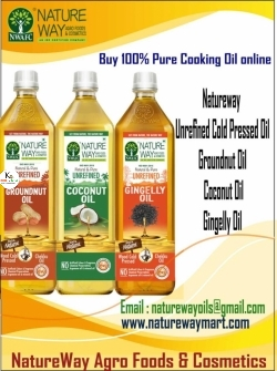 UNREFINED COLD PRESSED COOKING OIL SALE