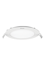 Scintillate eco edge lit led panel slim round