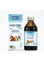 Pharmaceutical Syrup: Homeopathic AKG -56 or E-Alfa Paediatrics