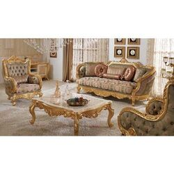ACME Industries Gold Leaf 5 Seater Sofa