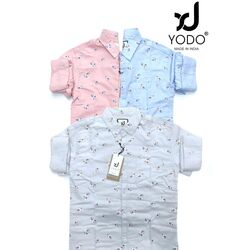 Light Color Printed Casual Shirts