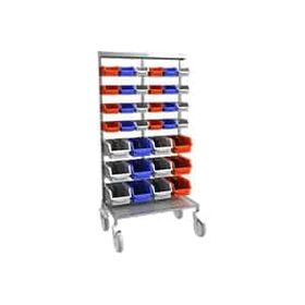 (ITR - 606) - Trolley With Stainless Steel Structure & Matt Finish
